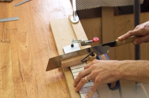 Multiscale Fret Slot Jig
