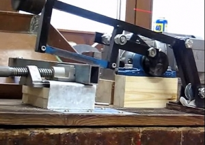Homemade Power Hacksaw - HomemadeTools.net