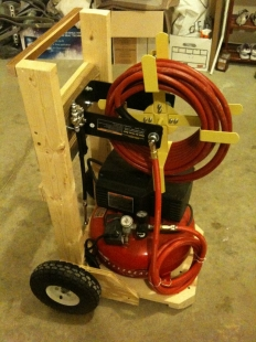 Air Compressor Cart