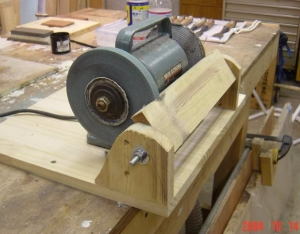 Sensational Homemade Bench Grinder Rest Homemadetools Net Caraccident5 Cool Chair Designs And Ideas Caraccident5Info