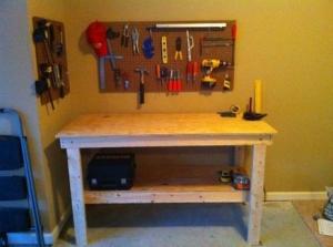 Delicieux Garage Work Table