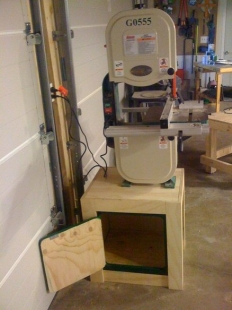 Bandsaw Stand and Cabinet