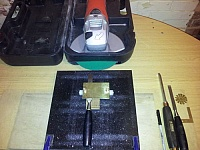 Angle Grinder Sharpening Station