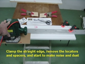 Handheld Router Jointing