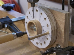 Radial Drilling Jig