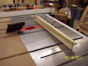 Crosscut Sled and Jig