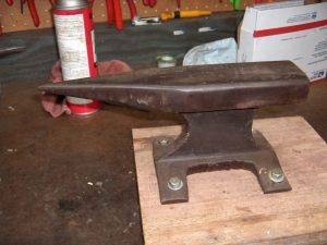 Railroad Track Anvil
