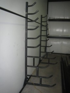 10-Shelf Steel Rack