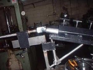 Tube Notching Setup
