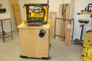 Planer Dust Collection Stand