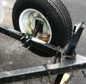 Homemade Trailer Spare Tire Mount Homemadetools Net