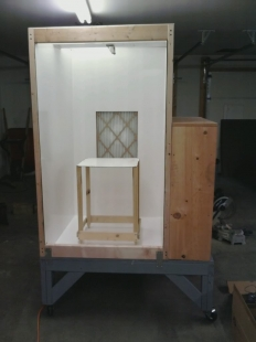 Homemade Powder Coating Booth Homemadetools Net