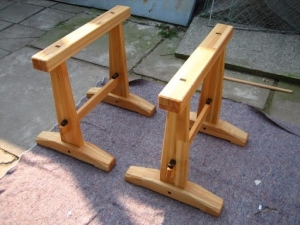 Homemade Japanese Sawhorses Homemadetools Net