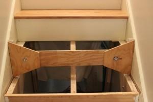 Homemade stair tread jig homemadetools stair tread jig maxwellsz