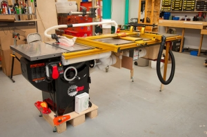 Table Saw Extension and Router Table