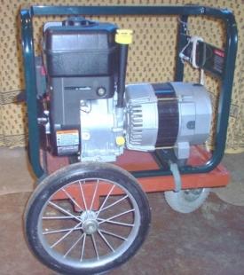 Homemade Generator Cart - HomemadeTools.net