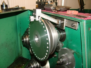 Lathe Indexing Plate