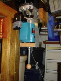 Homemade router table lift system homemadetools homemade router table lift system greentooth Images