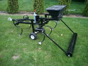 Homemade Cultipacker and Plow - HomemadeTools net