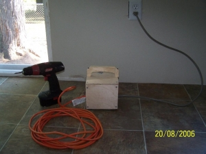 Cordless Drill Modification
