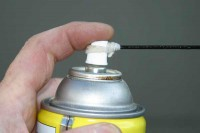 Spray Can Siphon Tube Retainer