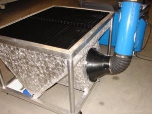 Miraculous Homemade Downdraft Plasma Cutting Table Homemadetools Net Home Interior And Landscaping Elinuenasavecom