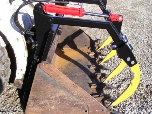 Homemade Tractor Grapple Fork