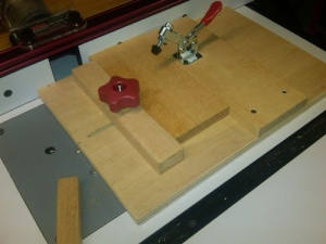 End Grain Routing Jig