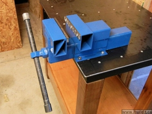 Delicieux Homemade Steel Bench Vise