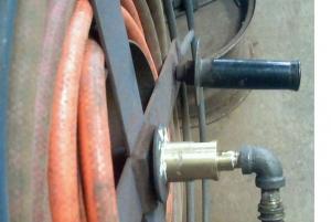 Homemade Hose Reel Swivel & Homemade Hose Reel Swivel - HomemadeTools.net