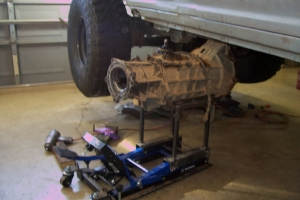 Transmission Case Lift