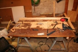 Table Saw from Hand-Held Circular Saw