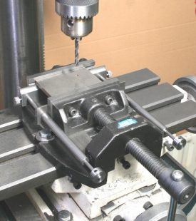 Drilling Vise Workpiece Support