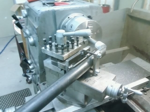 Lathe Tube Notching Jig