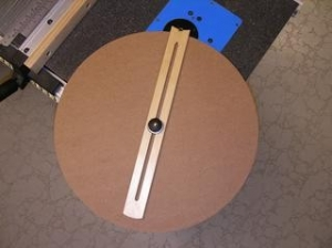 Router Table Circle Jig
