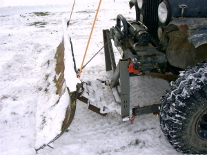 Homemade Snowplow Blade