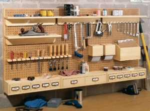 Pegboard Storage System