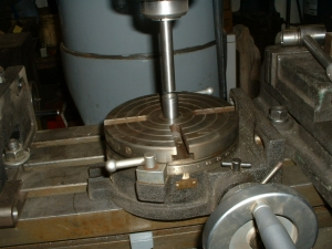 Quick Centering of a Rotary Table