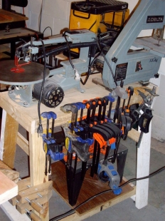 Scroll Saw and Bandsaw Stand