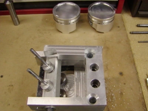 Piston Notching Fixture