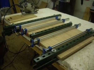 Panel Clamp and Veneer Press