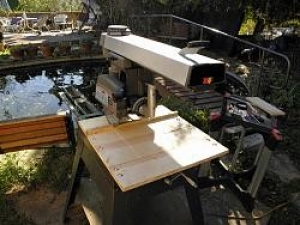 Homemade Radial Arm Saw Table