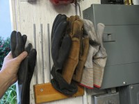 Glove Storage Rack