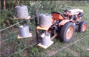 Homemade Fence Wire Unroller Homemadetools Net
