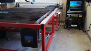 Homemade CNC Plasma Table