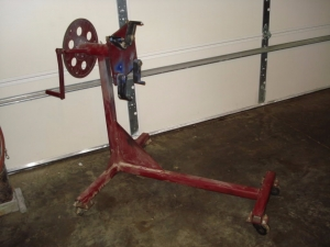 Homemade Engine Stand - HomemadeTools.net