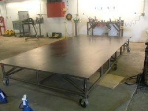 Round Tube Chassis Table