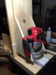 Radius Sanding Block Routing Jig