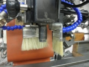 Chip Brush on Flexible Coolant Line