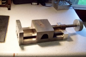 Vise with Dovetail Slide